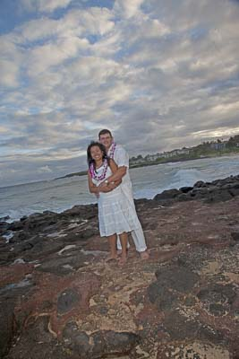 Danny & Jeannette, Kauai, distination weddings, beach weddings
